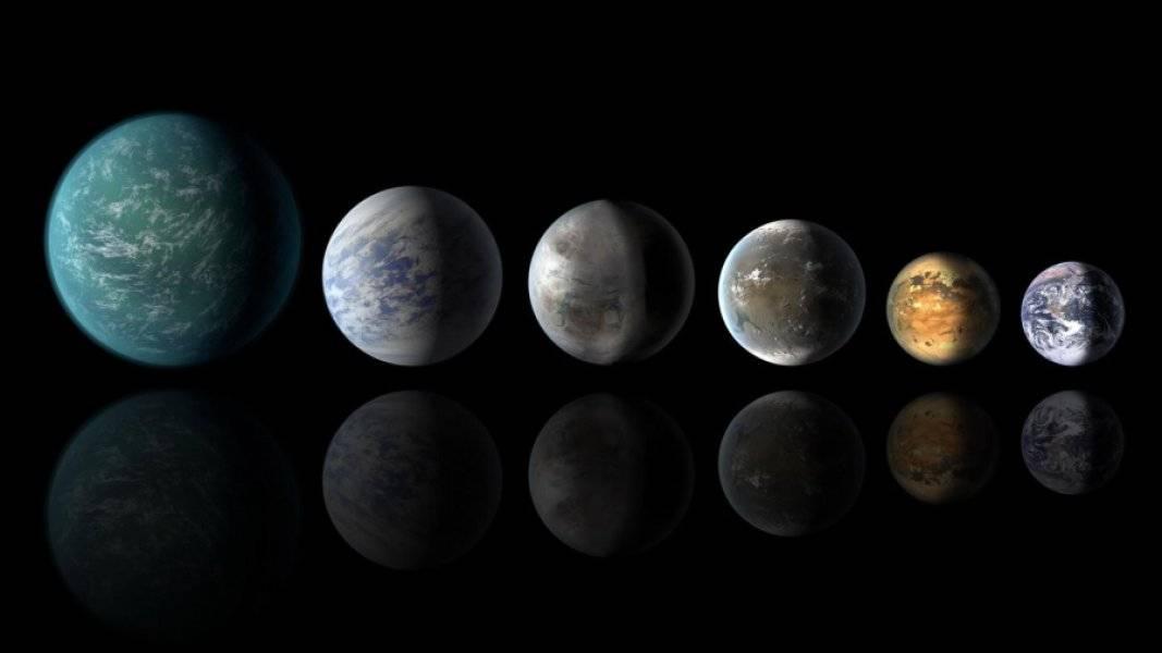 Exoplanetas conocidos podrían tener grandes cantidades de agua