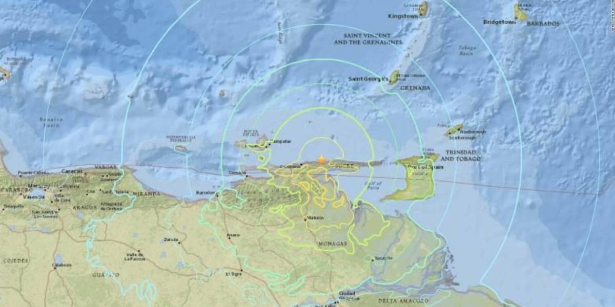 El sismo que azotó a Venezuela, Trinidad y Tobago y Colombia, quedó registrado en videos