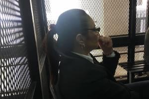 Roxana Baldetti en el Juicio del caso Lago de Amatitlán