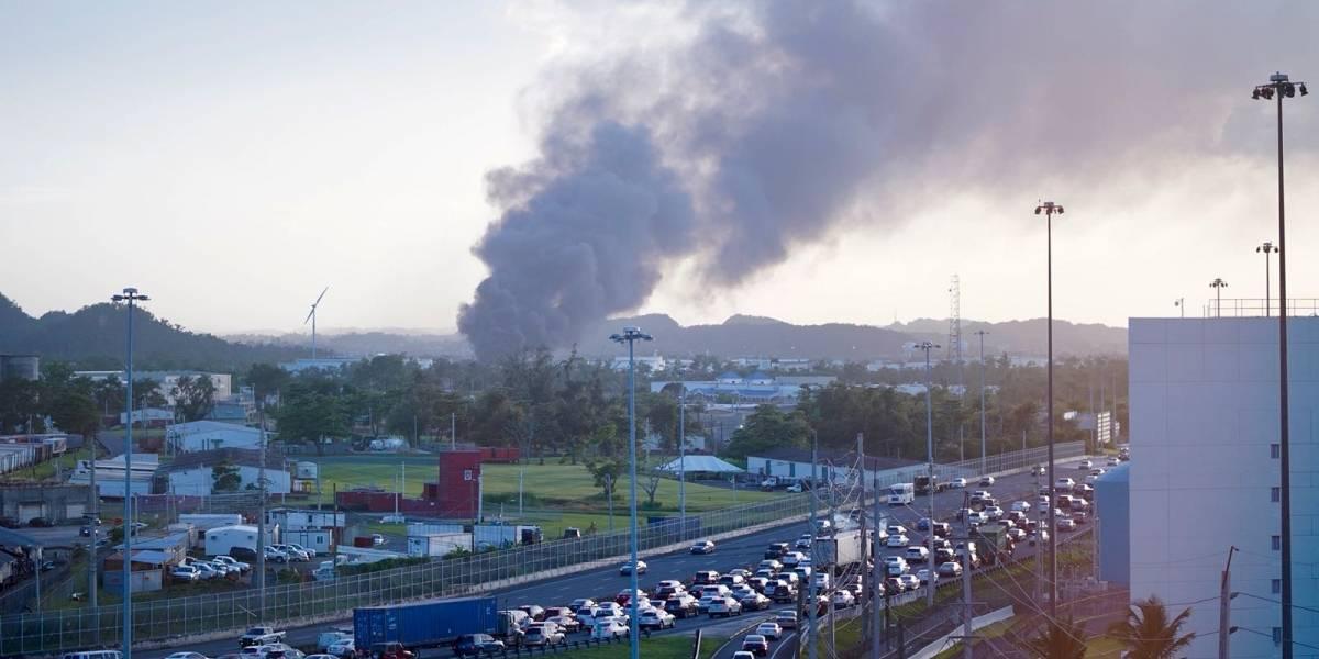 Reportan gran fuego en Bayamón