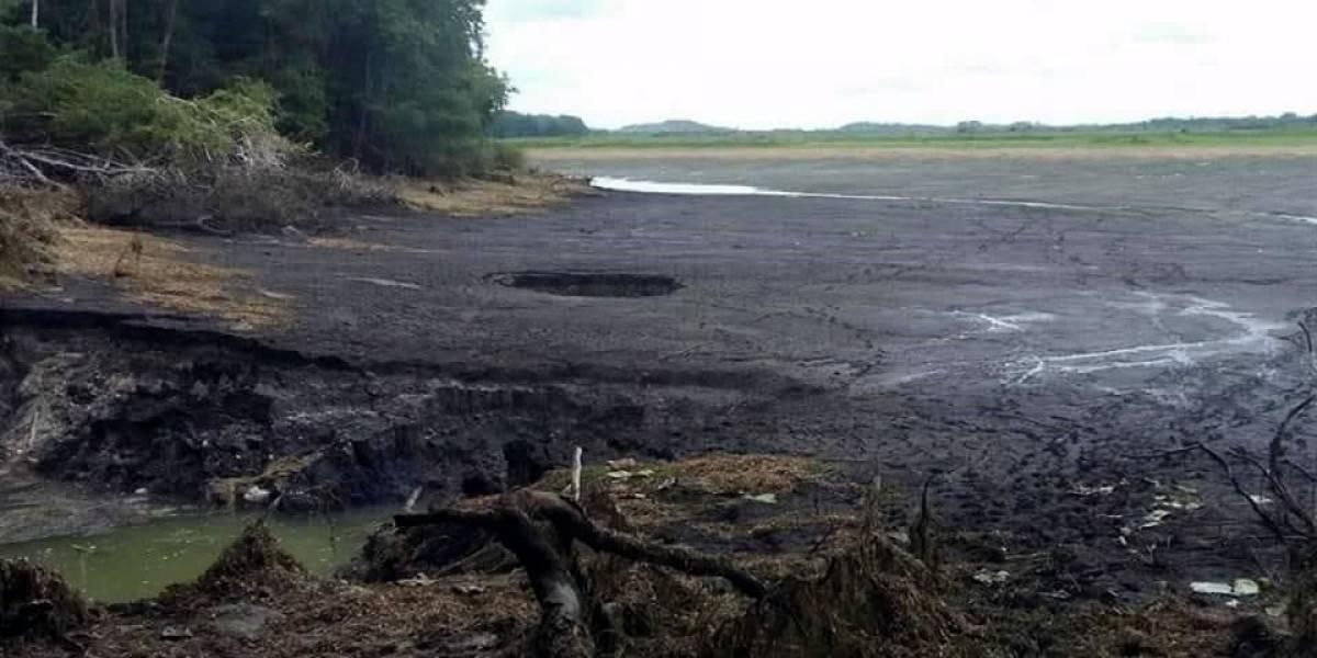 Socavón 'desaparece' laguna en reserva de Quintana Roo