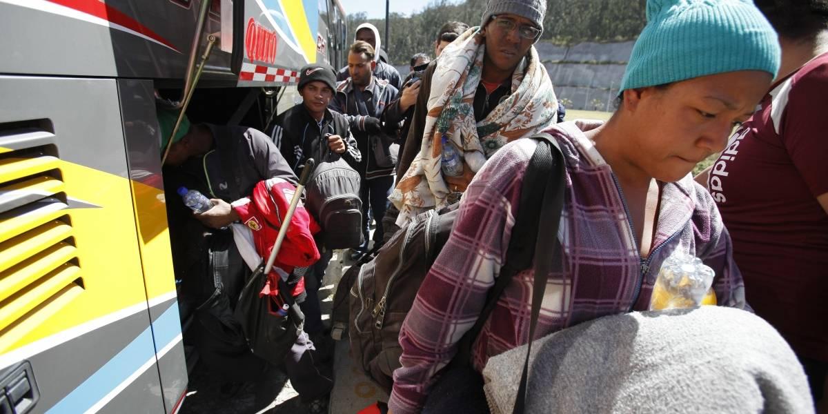 """Crean """"corredor ciudadano"""" para trasladar en bus a venezolanos hasta Perú"""