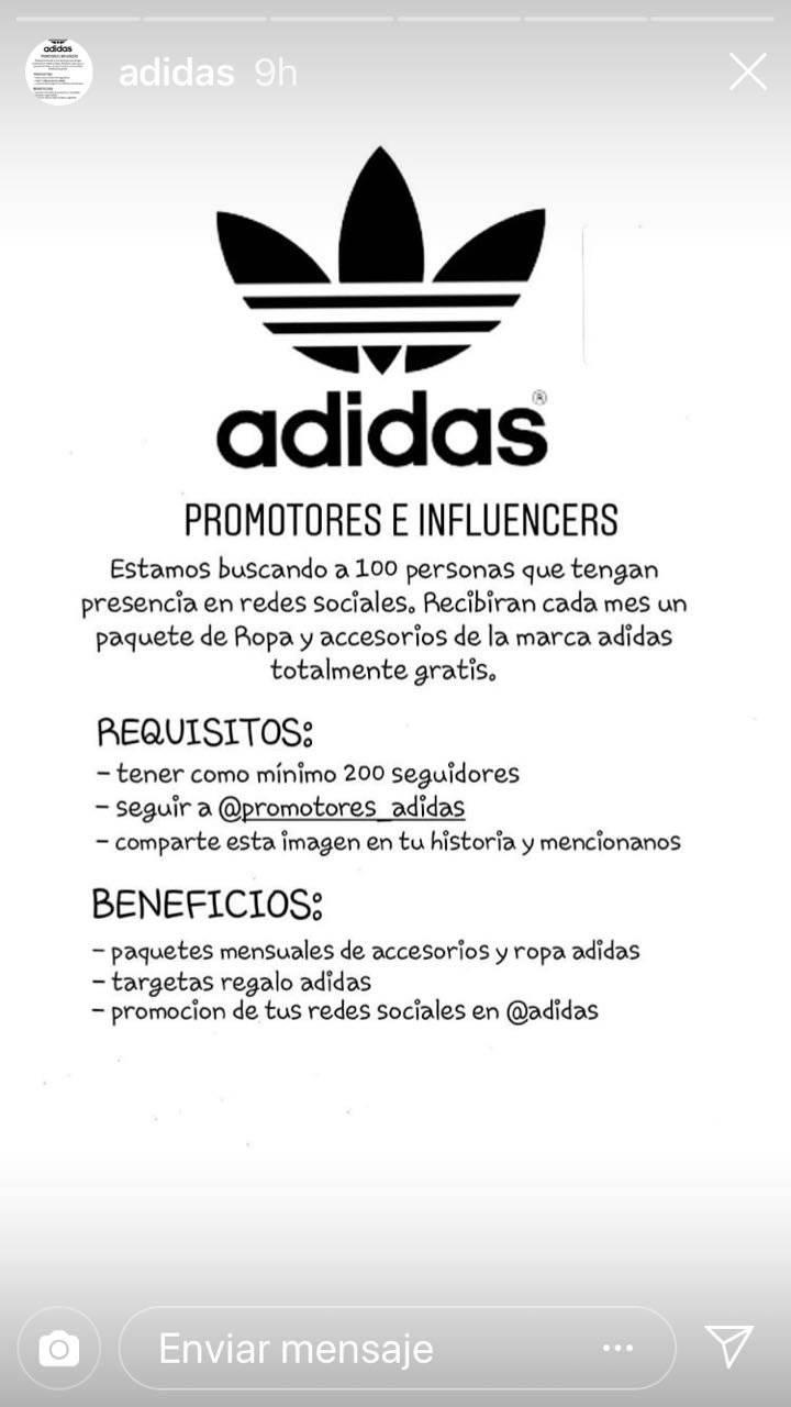 Promoteres Adidas