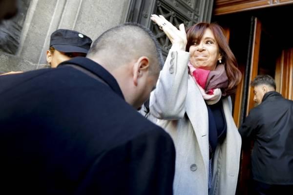 CFK ingresa al senado
