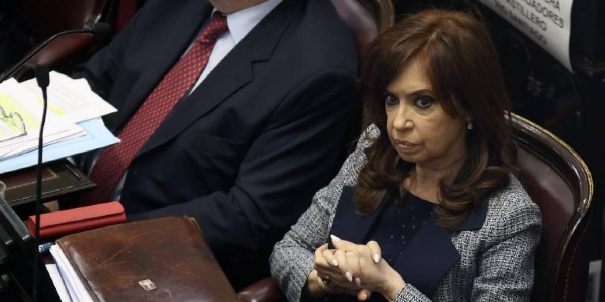 Argentina espera decisión del Senado para allanar residencias de Kirchner