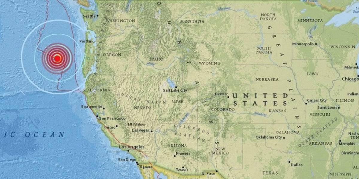 En las cercanías de la falla de San Andrés: fuerte sismo de 6,2 remece la costa de Oregon en Estados Unidos