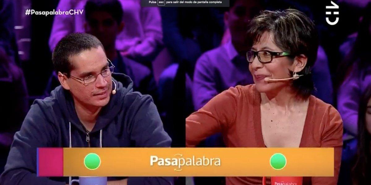 """""""Soa Ledy"""" obtiene su revancha en el """"Pasapalabra"""" y elimina a Daniel Araya en el rosco"""