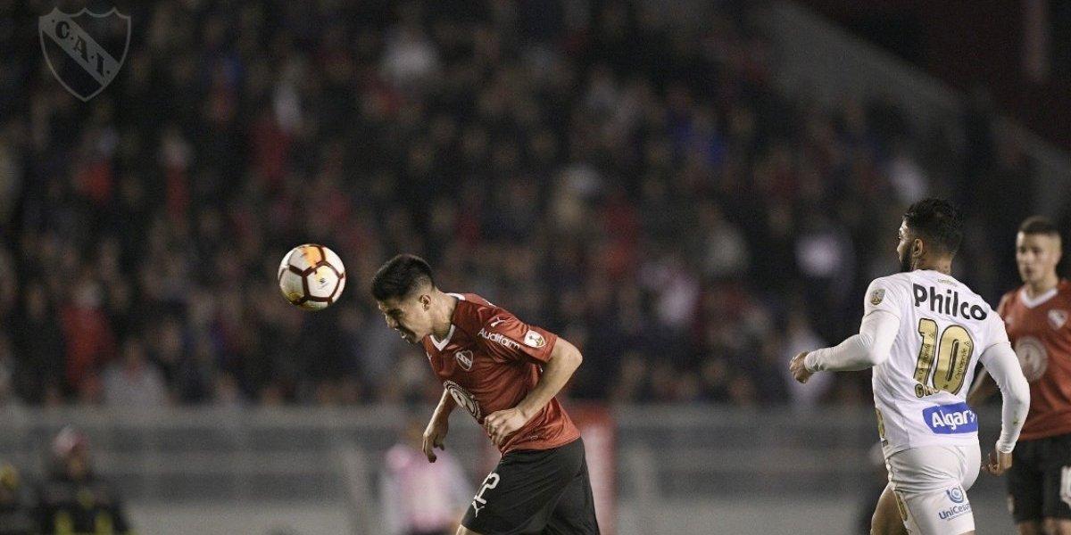 Gato Silva y Pedro Pablo Hernández se ganan elogios tras su debut con Independiente en la Libertadores