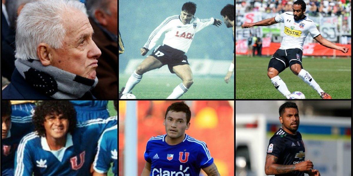 Pasado vs. presente: El Superclásico de todos los tiempos de los jugadores que estuvieron en Colo Colo y la U