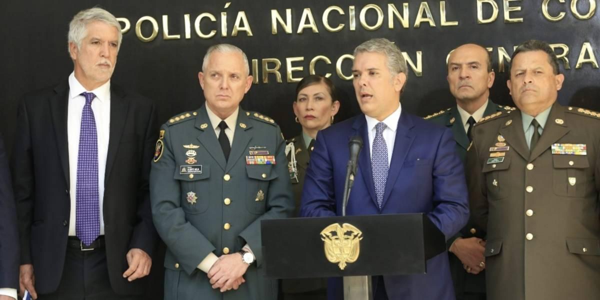 Bogotá tendrá más pie de fuerza, según el presidente Iván Duque