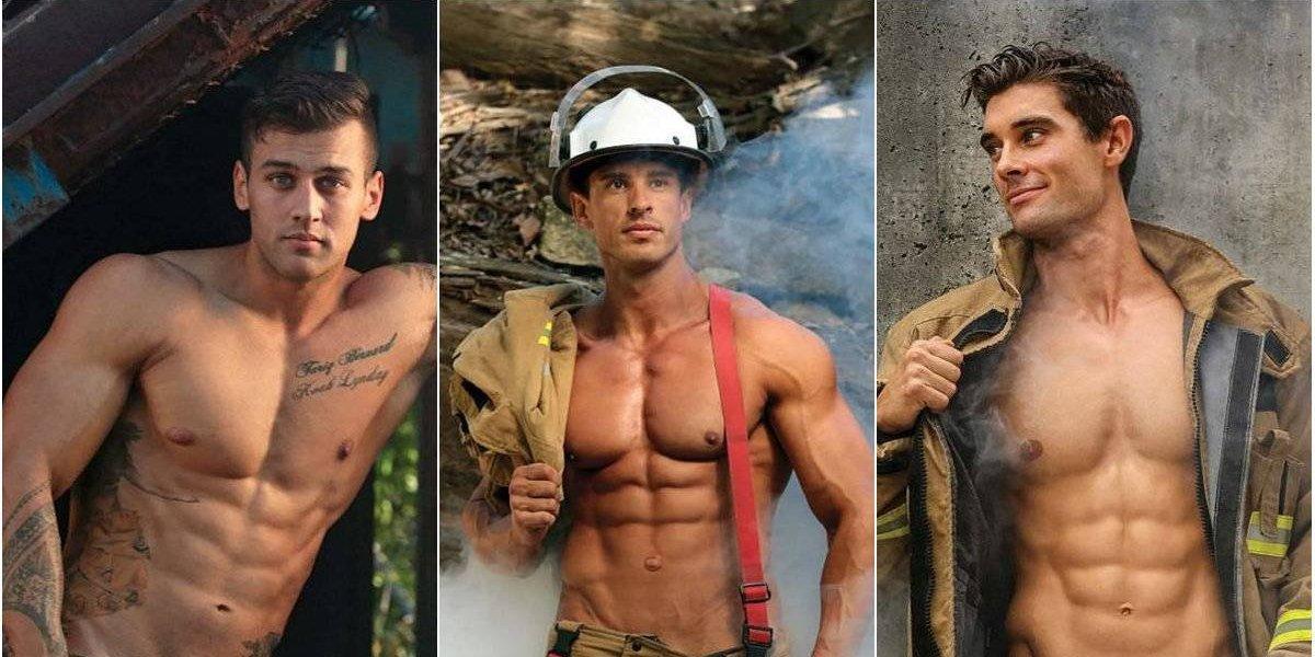 Este Día del Bombero recordamos el calendario más sexy de estos héroes