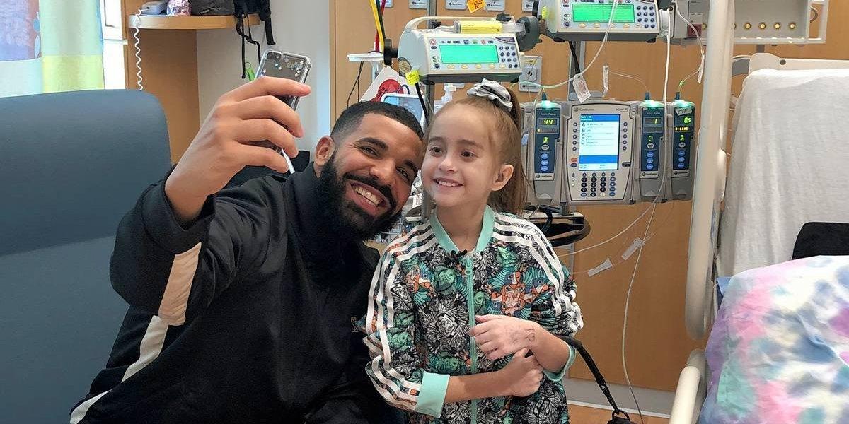 VIDEO. Niña recibe trasplante de corazón tras visita de Drake