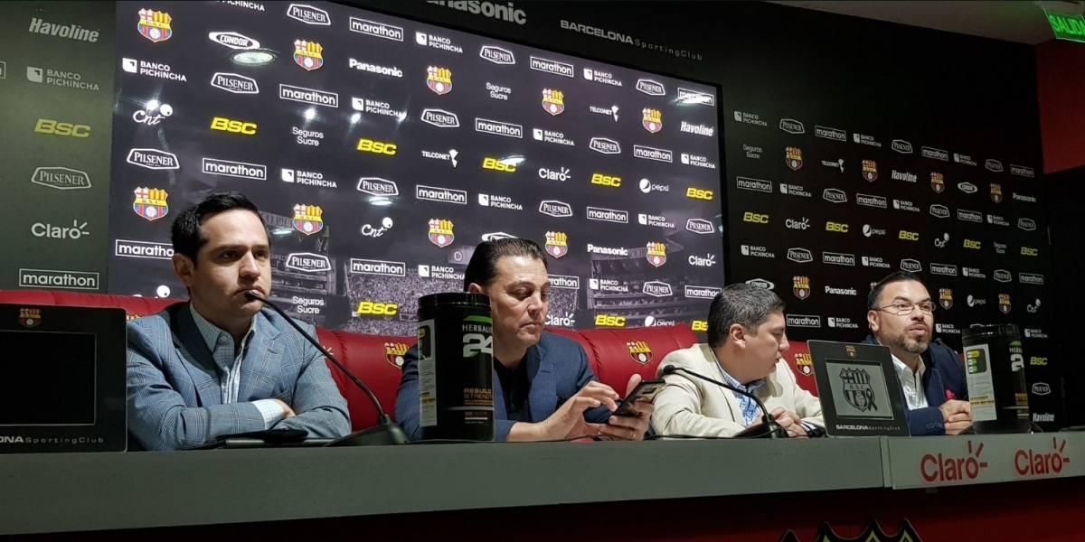 Barcelona SC: Se complican las cosas para Frickson Erazo