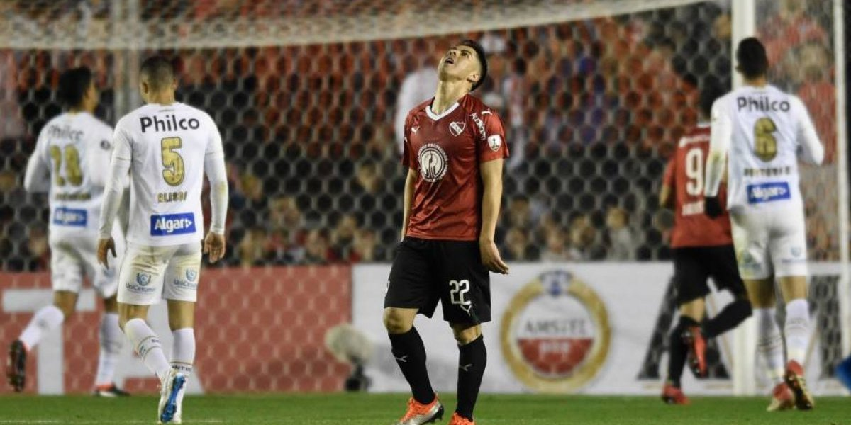 Independiente podría hacer la gran San Lorenzo después de empatar con Santos en la Libertadores