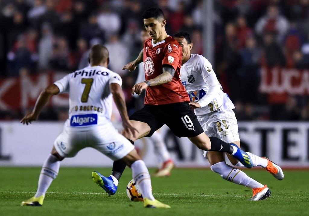 El Tucu Hernández se afianza como titular en Independiente / Foto: Getty Images