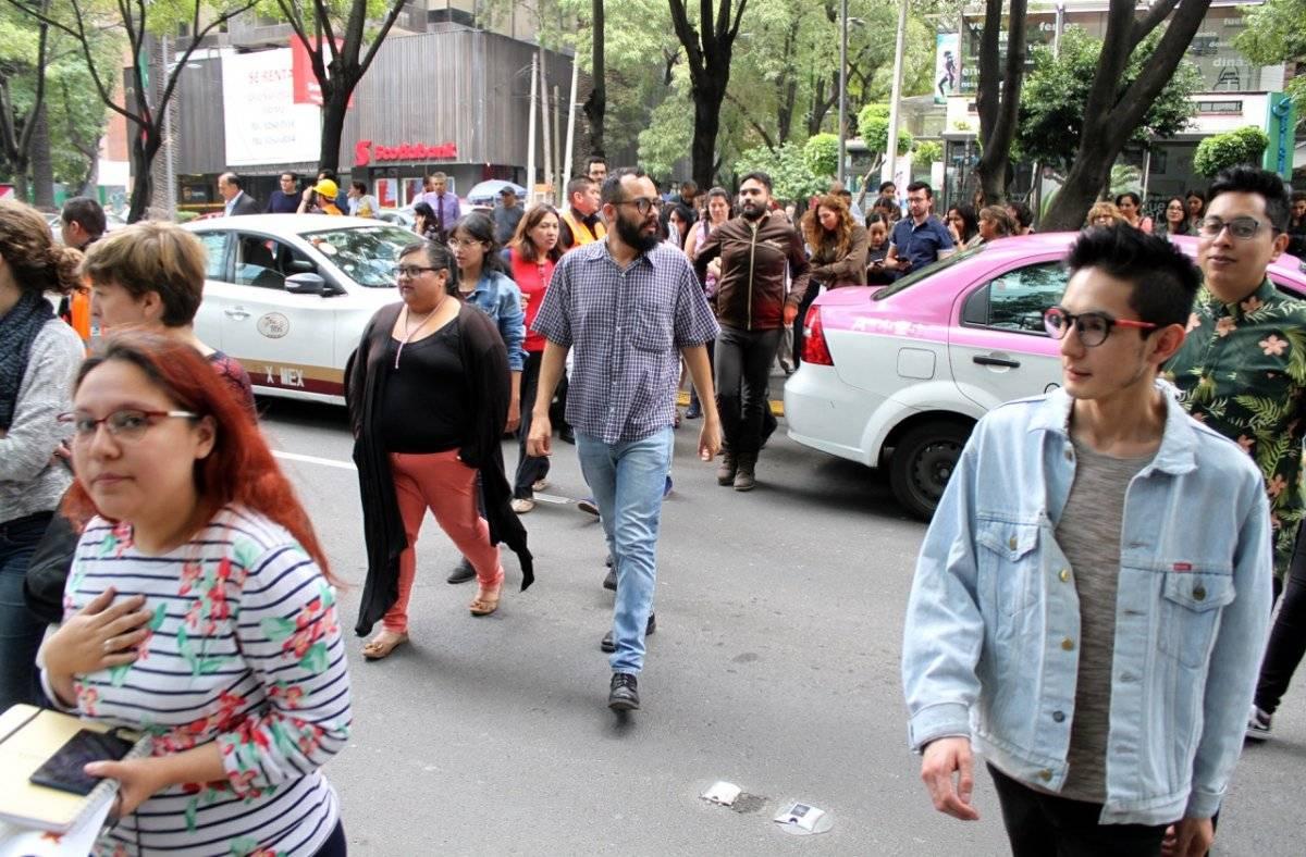El miedo tras la tragedia del pasado 19 de septiembre sigue presente Foto: Nicolás Corte | Publimetro