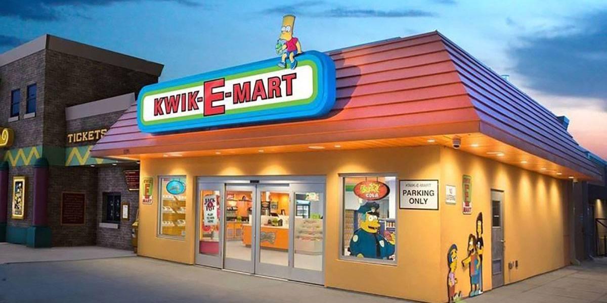 Alguien abrió una réplica exacta de la tienda Kwik-E-Mart de Los Simpson. Pero sin Apu.