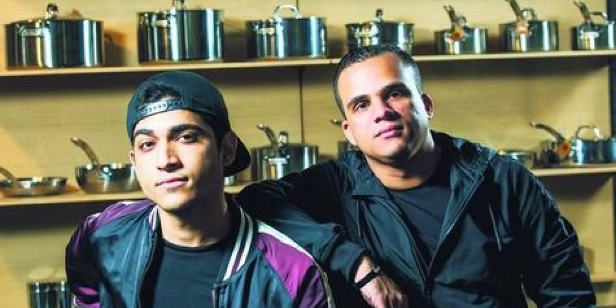 Dúo Mute Cake, el sonido detrás del éxito de Lo Blanquito