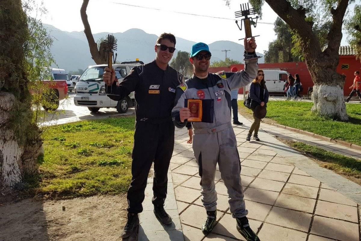 Michelangelo Bertolla y Paolo Boggio Road to Dakar
