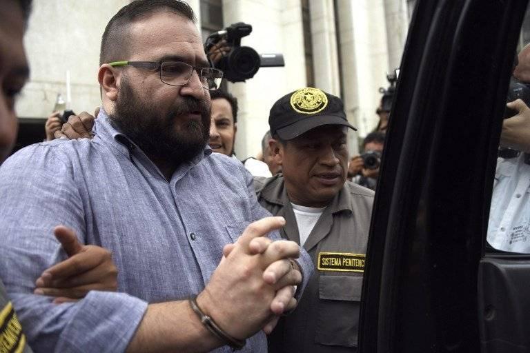 Javier Duarte en Guatemala