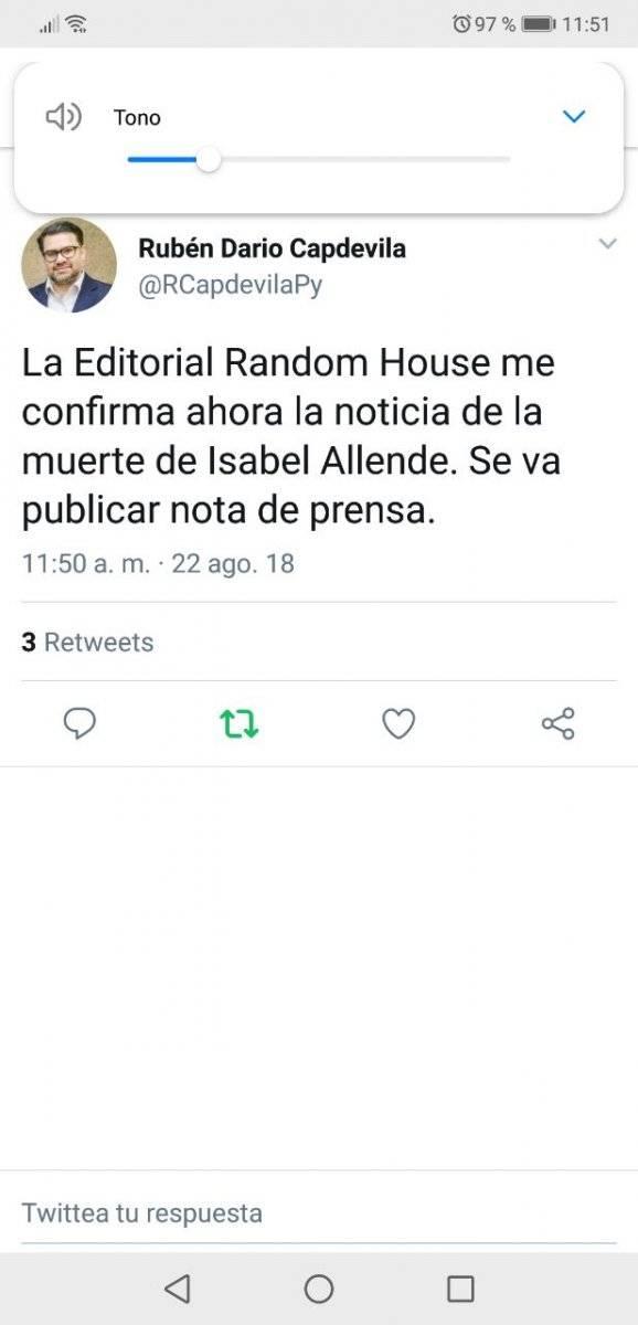 Ministro paraguayo