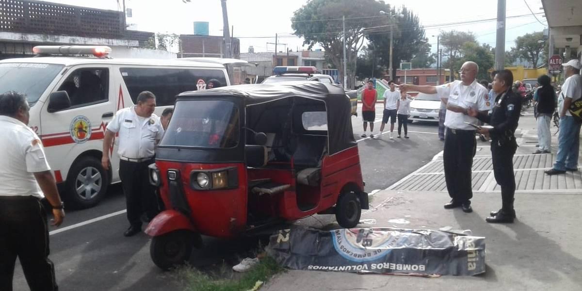 Sicarios le piden carrera a mototaxista para asesinarlo
