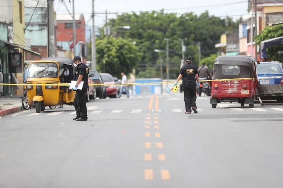 mototaxista asesinado en la zona 6