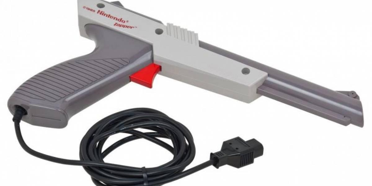 ¿Recuerdas la pistola de Nintendo con la que matabas patos? Así funcionaba realmente