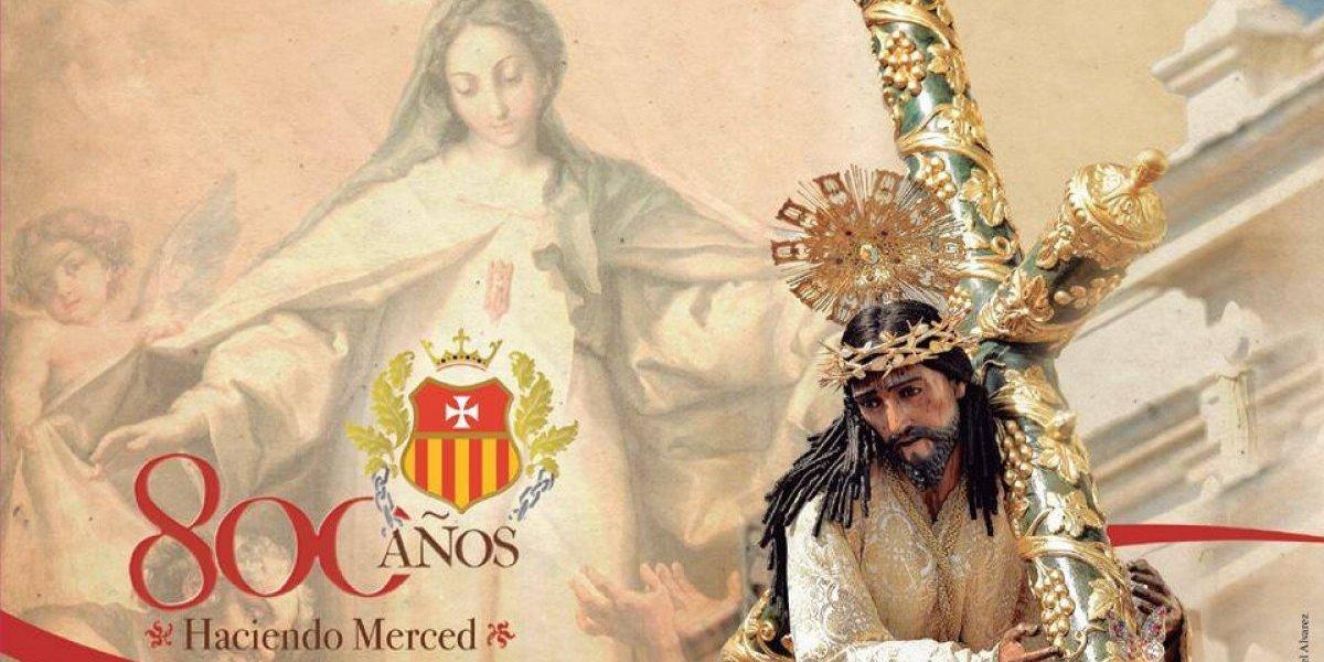 Procesión conmemora los 800 años de fundación de la Orden de La Merced