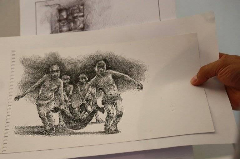 Dibujos de Najah Albukai