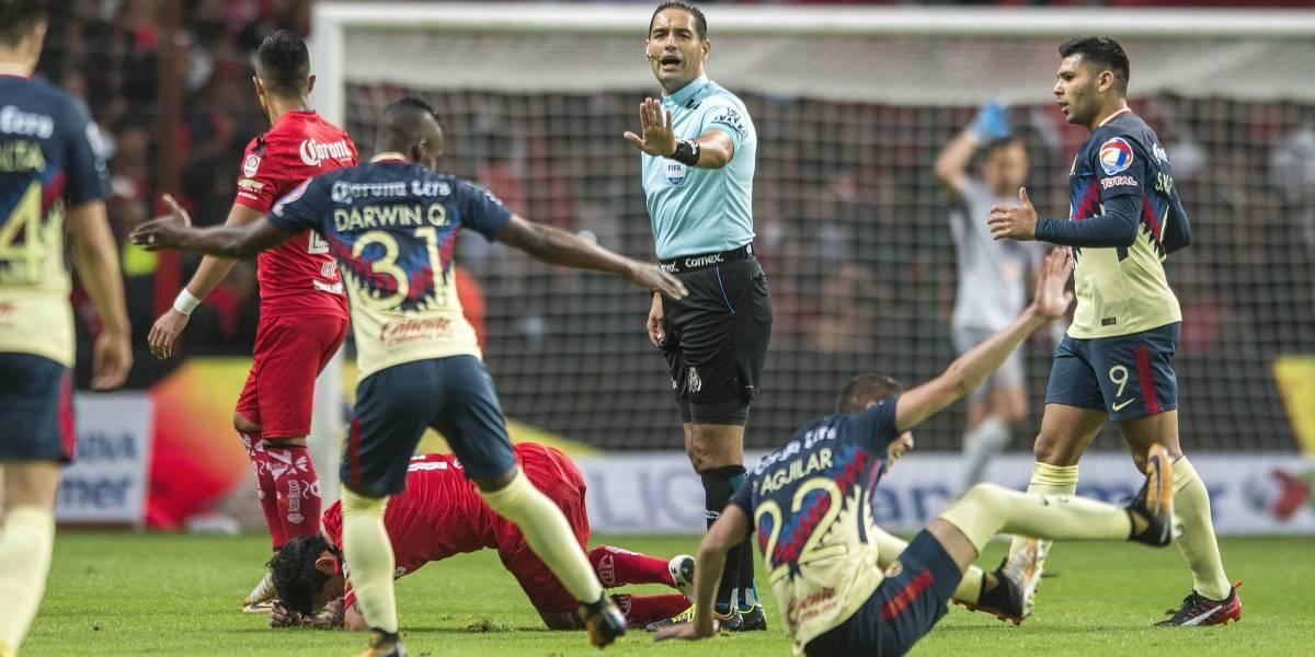 Femexfut trata de explicar cambio de árbitro para el León-América