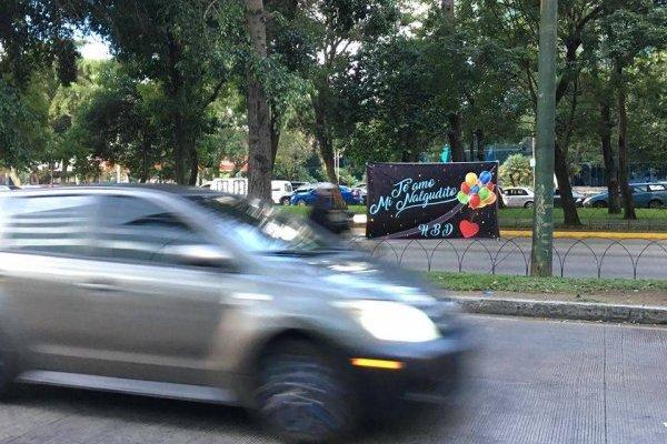 Cartel Avenida Reforma