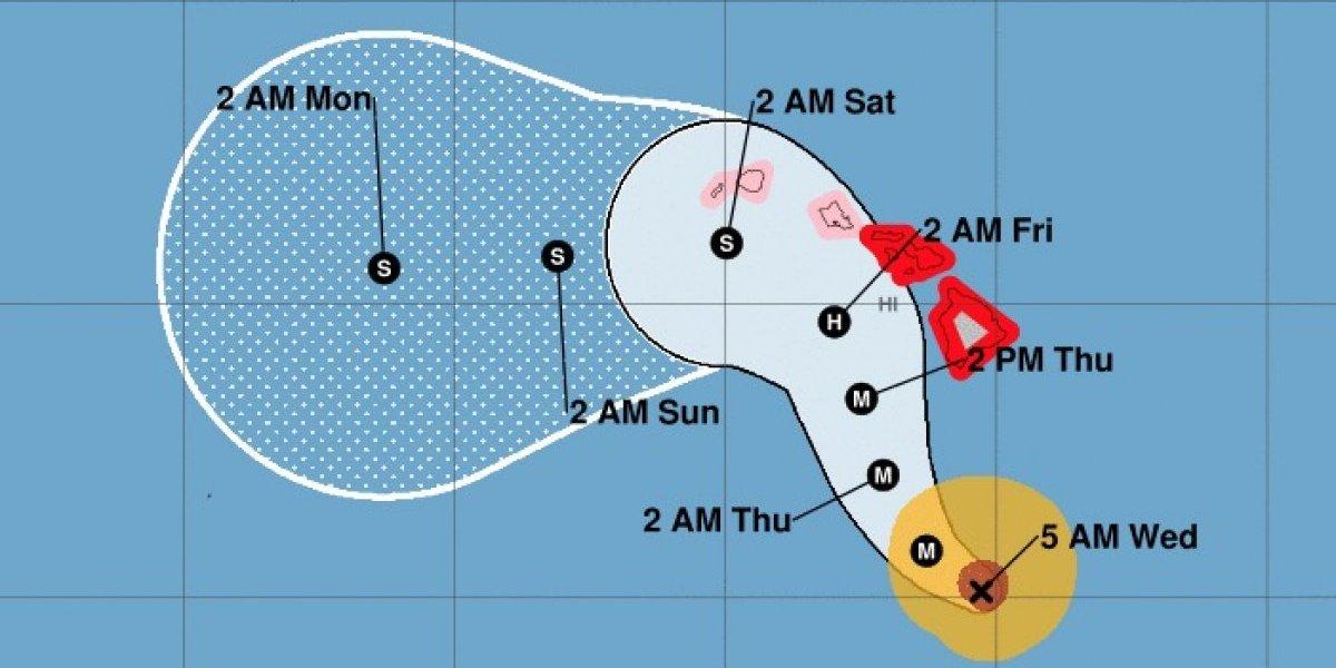 Poderoso huracán Lane a punto de azotar a Hawai
