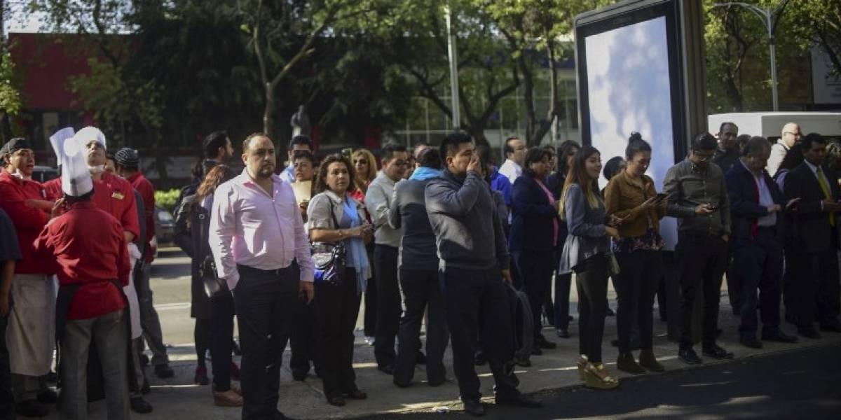 Fuerte sismo de 5.3 gradossacude México
