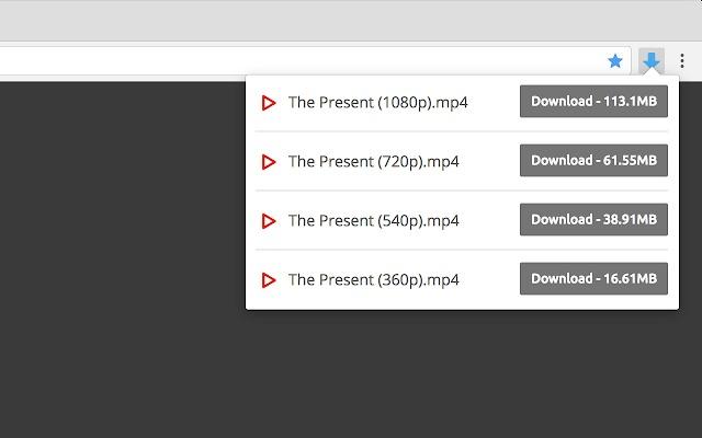 Videodownloader para Chrome