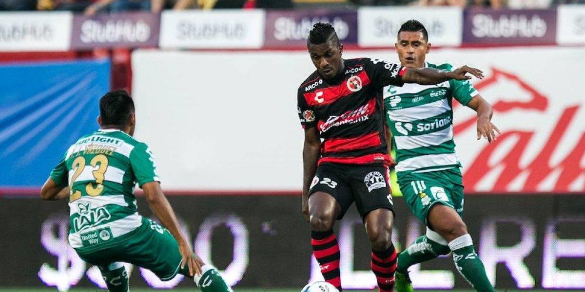 Santos rescata empate ante Xolos