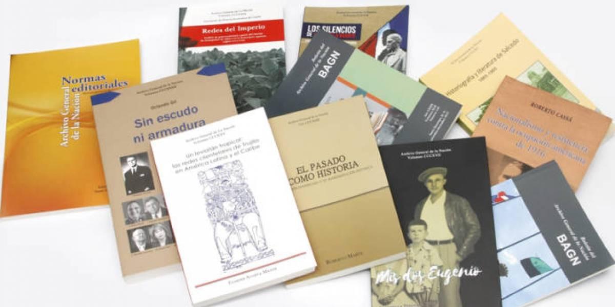 Archivo General de la Nación publica once obras en este 2018