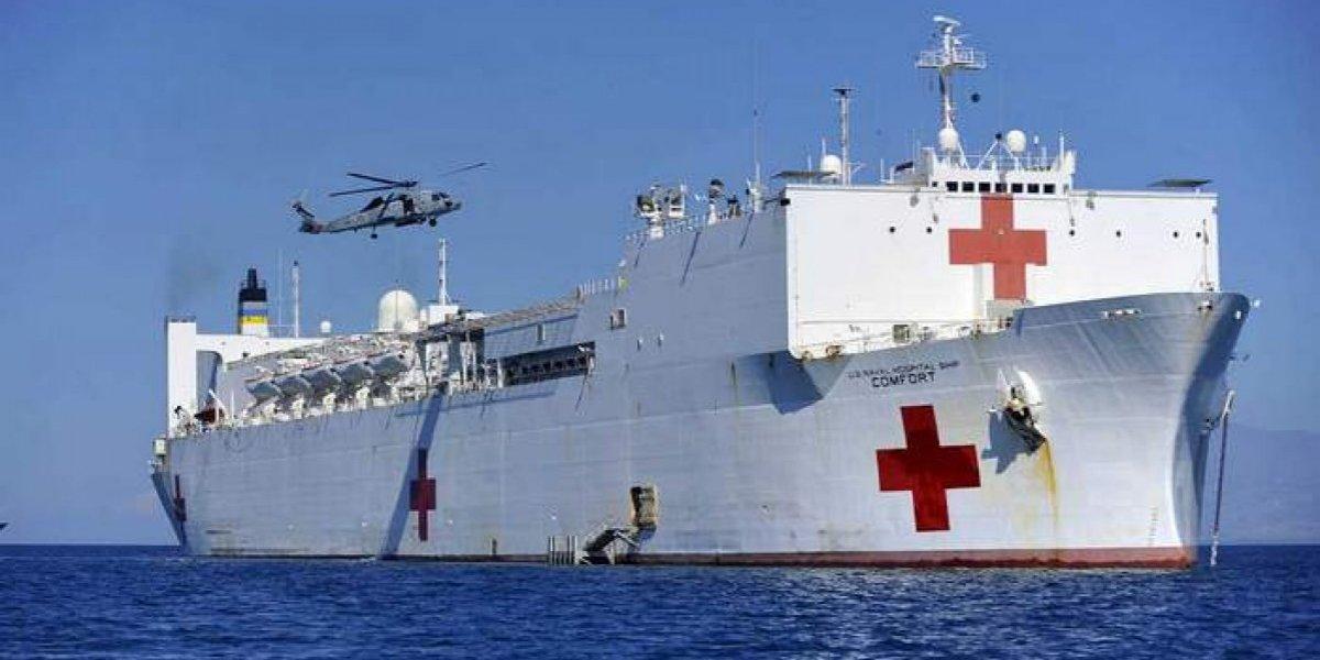 Buque hospital de Estados Unidos recorrerá América ayudando a venezolanos