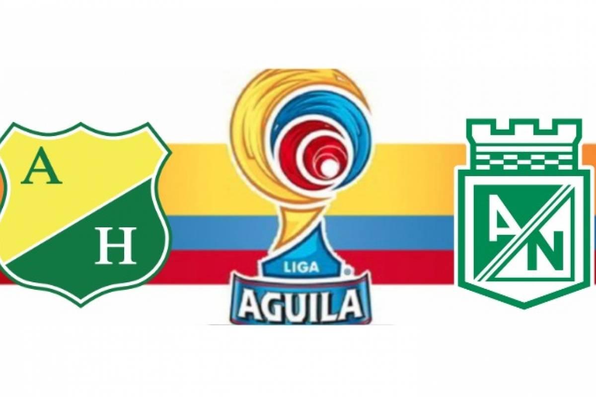 Huila Vs Nacional: Semifinal Huila VS Nacional De La Liga Águila 1-2018