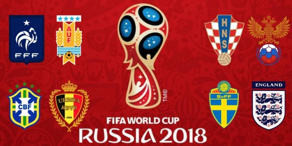 Partidos de cuartos de final del Mundial Rusia 2018 para Colombia ...
