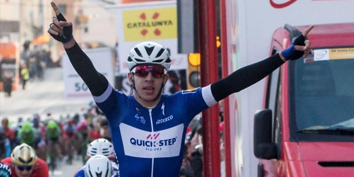 Álvaro Hodeg dejó en alto el nombre del país en la Vuelta a Alemania