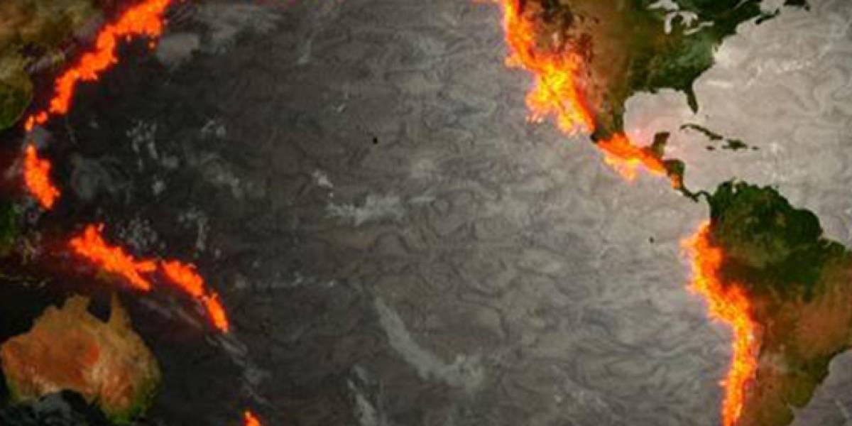 """Temor ante posibilidad de gran terremoto: más de 65 temblores remecen """"anillo de fuego del Pacífico"""" en apenas dos días"""