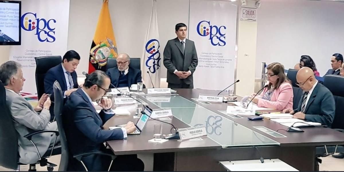 Jueces de la Corte Constitucional, cesados por el Consejo de Participación Ciudadana