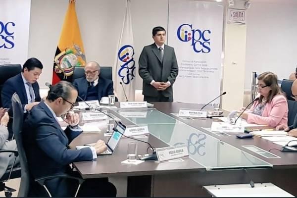 Consejo de Participación Ciudadana Transitorio cesa a la Corte Constitucional