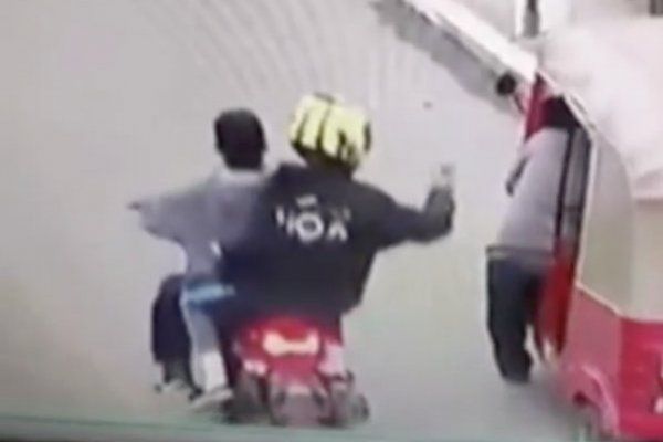 Crimen mototaxista en Canalitos, zona 24