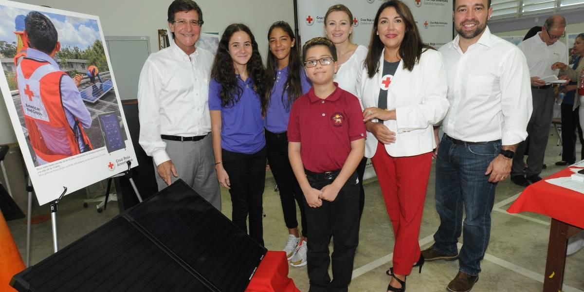 Cruz Roja instalará microrredes solares en escuelas