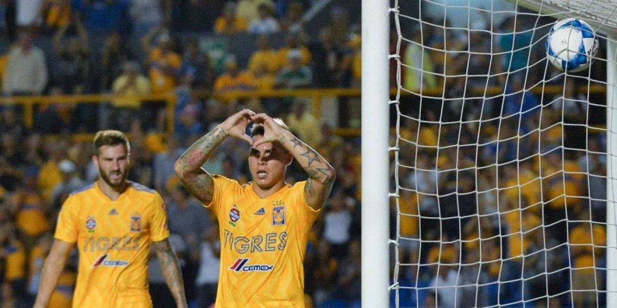 Está en racha: Vargas necesitó de cinco partidos para llegar a la mitad de su cuota goleadora de la temporada pasada