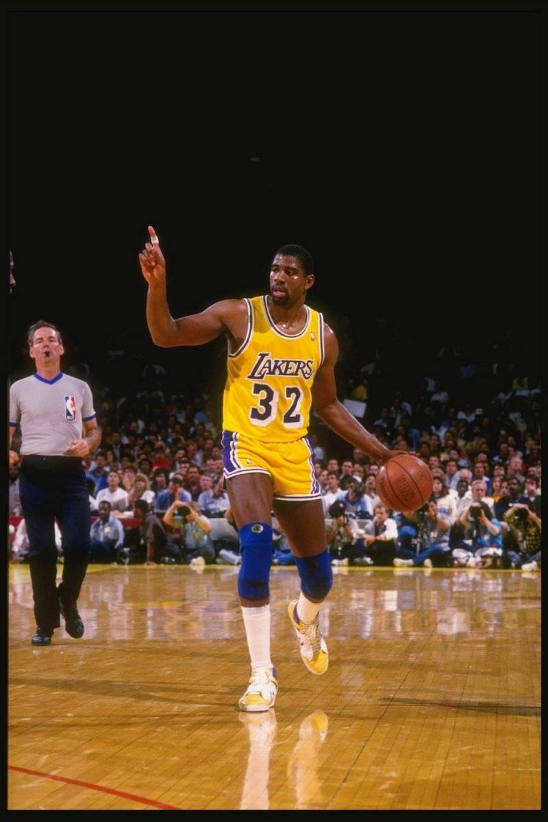 """Magic"" Johnson / Getty Images"