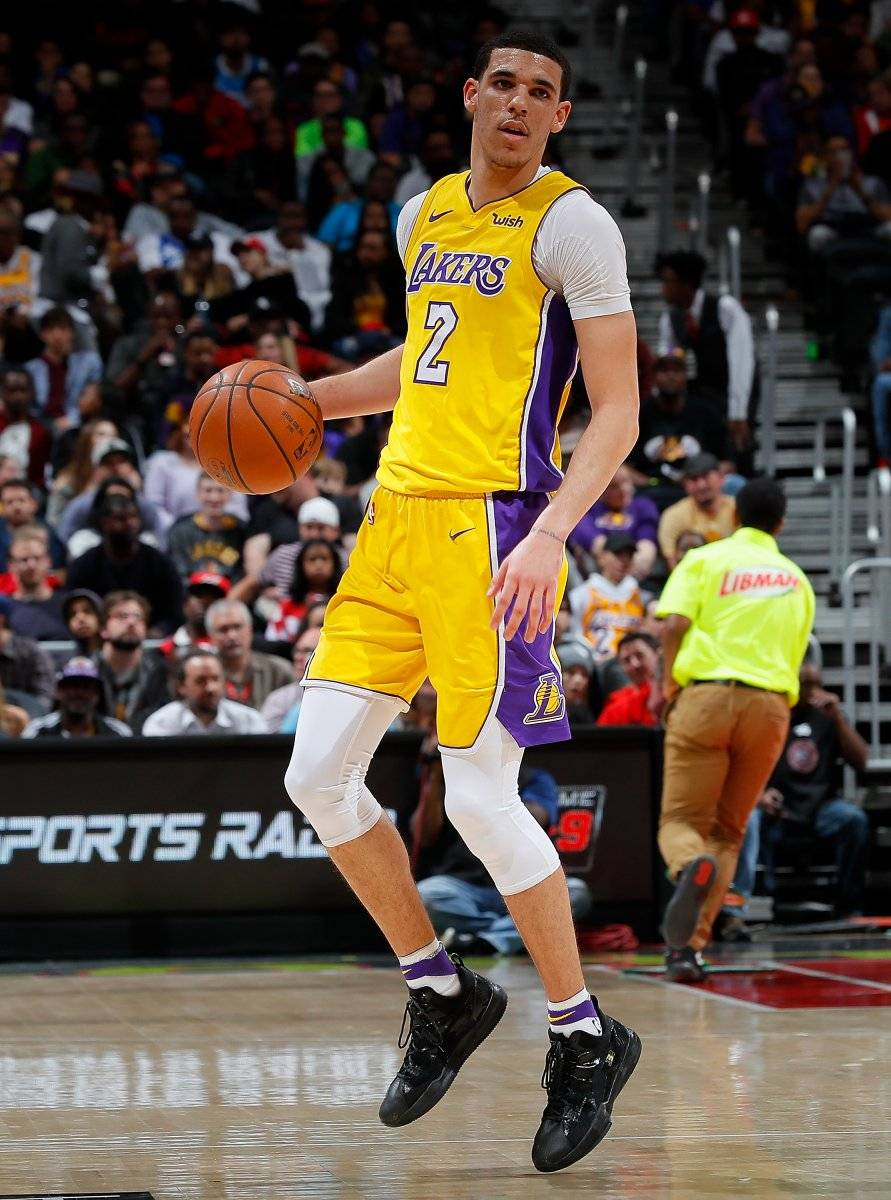 Lonzo Ball / Getty Images
