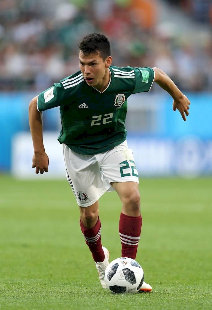 El delantero mexicano encabeza la lista de convocados Getty Images
